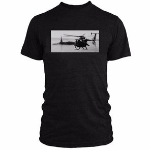 Day Blazing T-Shirt MH6 Little Bird Flying by The Statue Of Liberty
