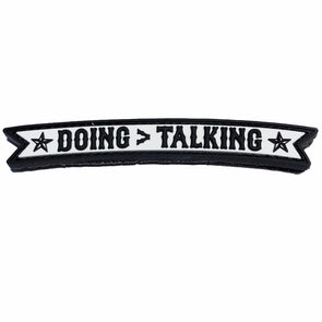 Morale Patch - Doing > Talking