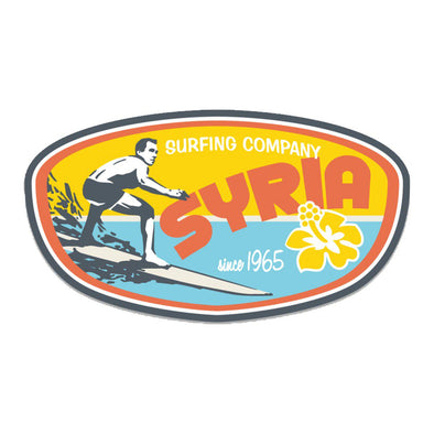 Sticker- Syria Surf Co.