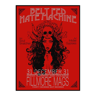 Sticker - Belt Fed Hate Machine