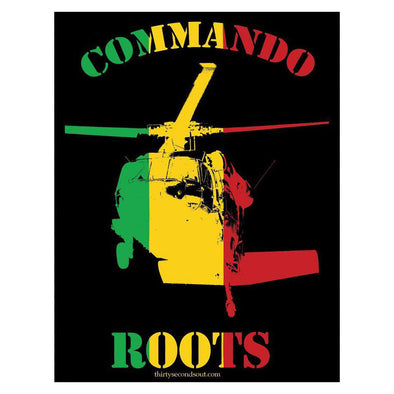 Sticker - Commando Roots
