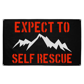 Flag - Expect To Self Rescue