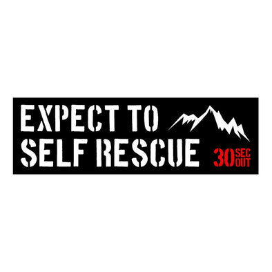 Sticker - Expect To Self Rescue V2