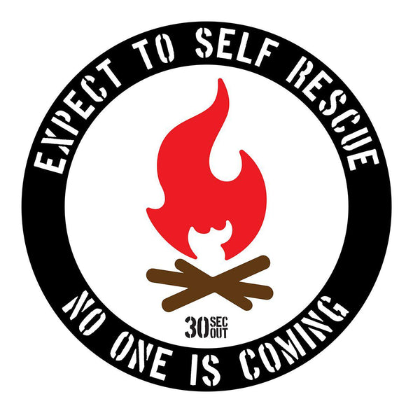 Sticker - Expect To Self Rescue