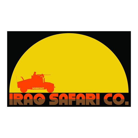 Sticker - Iraq Safari Company