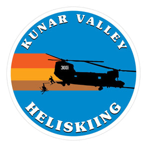 Sticker - Kunar Valley Heliskiing