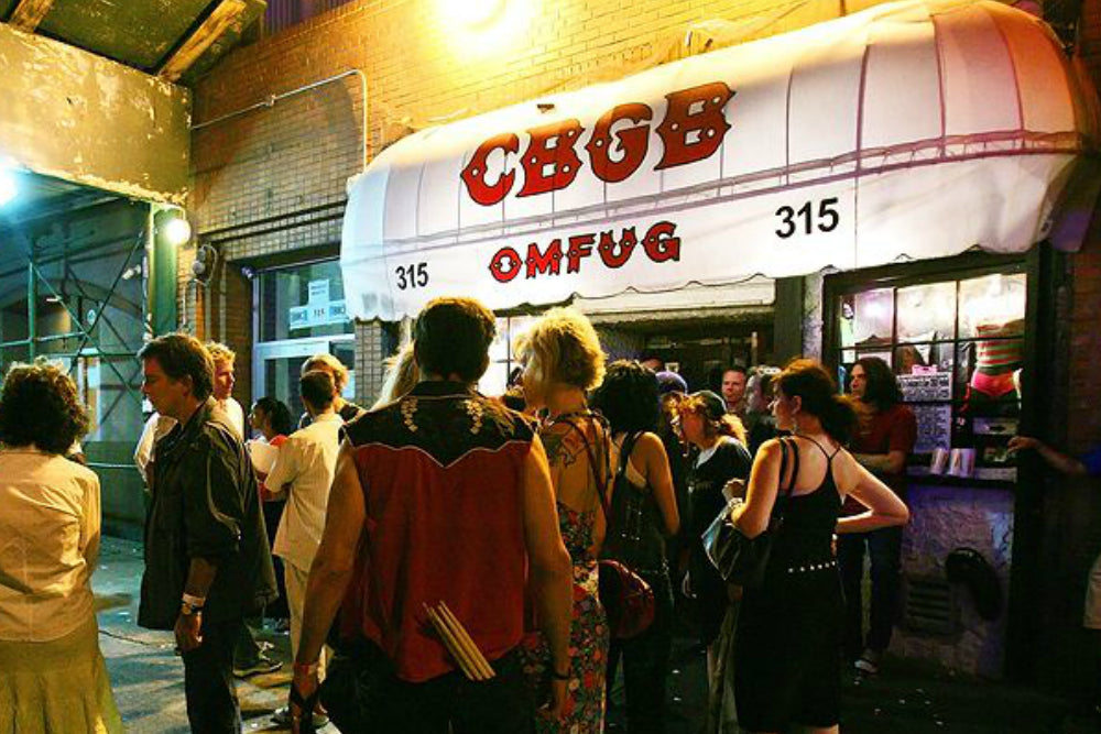 A BRIEF HISTORY OF NEW YORK'S LEGENDARY CBGB