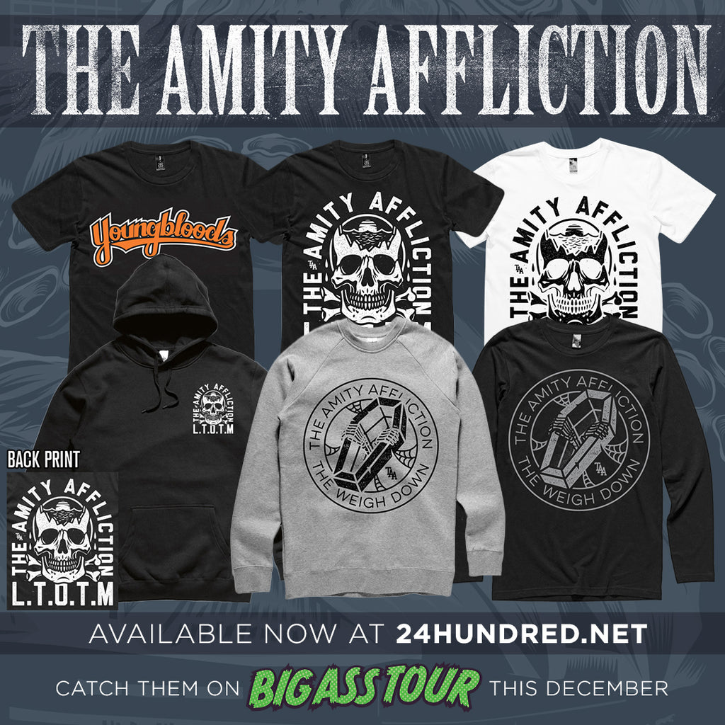 The Amity Affliction New Merch Online 24hundred