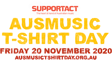 Aus Music T-Shirt Day 2020