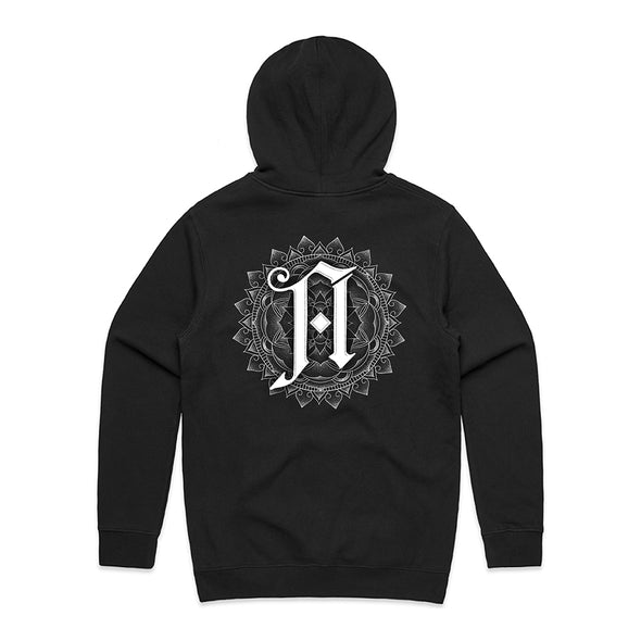 Lost Forever // Lost Together Hoodie (Black)