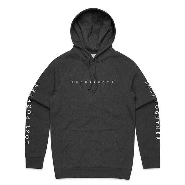 Lost Forever // Lost Together Hoodie (Asphalt Marle)