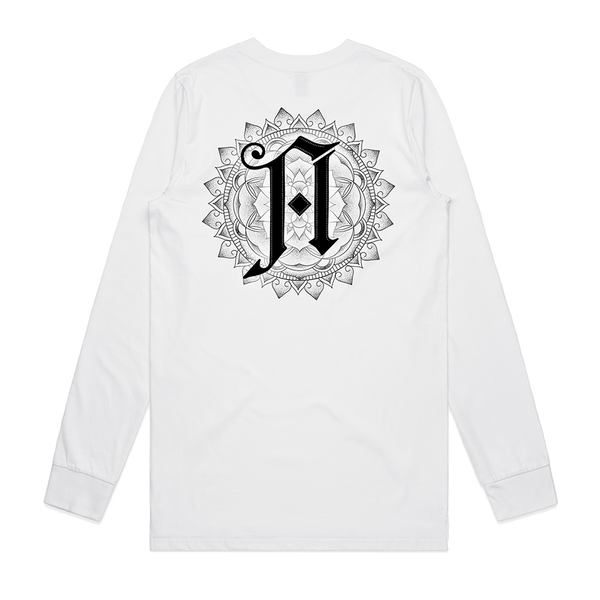 Lost Forever // Lost Together Longsleeve (White)