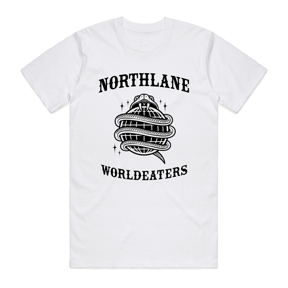 Worldeaters Tee (White) // PREORDER