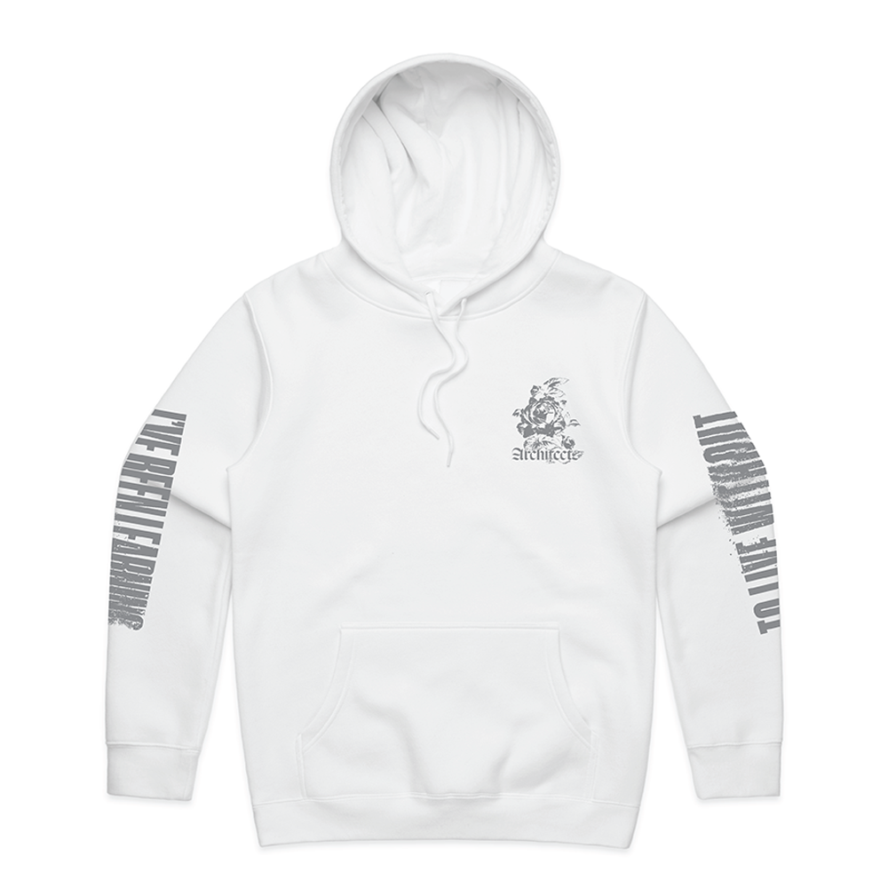 To Live Without Hoodie (White)