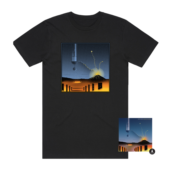 Sleepless and Sunkissed Tee + Album Digital Download // PREORDER