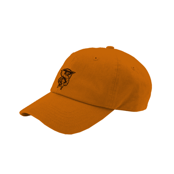 Snake B Dad Hat (Orange)