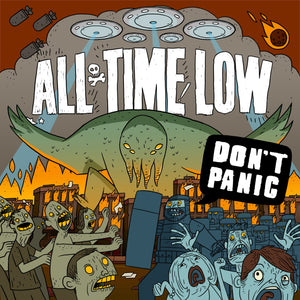 All Time Low Official Merch - Don't Panic (CD)