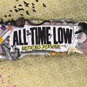 All Time Low Official Merch - Nothing Personal (CD)