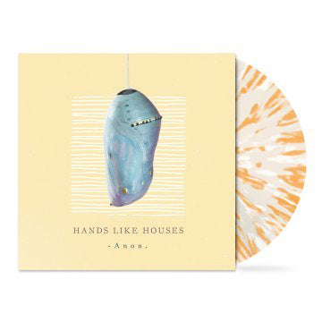 "Anon. 12"" Vinyl (Clear w Orange and White Splatter)"
