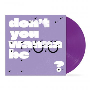 """don't you wanna be glad?"" 12"" Vinyl (Purple) // PREORDER"