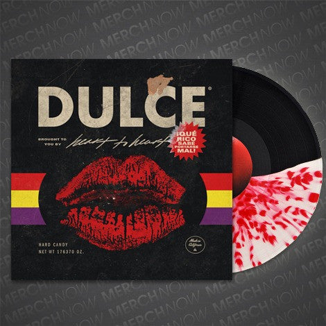 "Dulce Official Merch - Heart To Heart (12"" Half & Half w/ Splatter Vinyl)"
