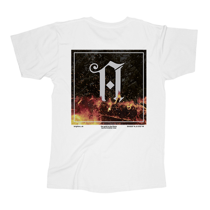 Architects merch Coordinates Tee (White)