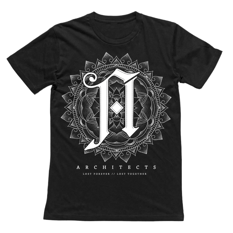 Architects Official Merch - Lost Forever Tee (Black)