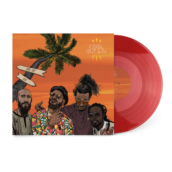 "Cool Out Sun 12"" Vinyl (Transparent Red)"