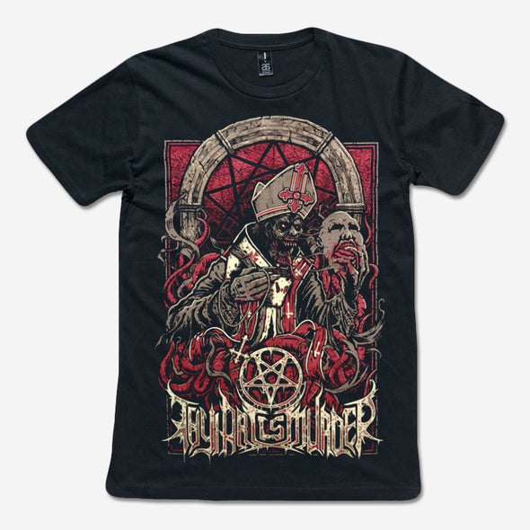 Thy Art Is Murder Official Merch - Empty God (Black Tee)