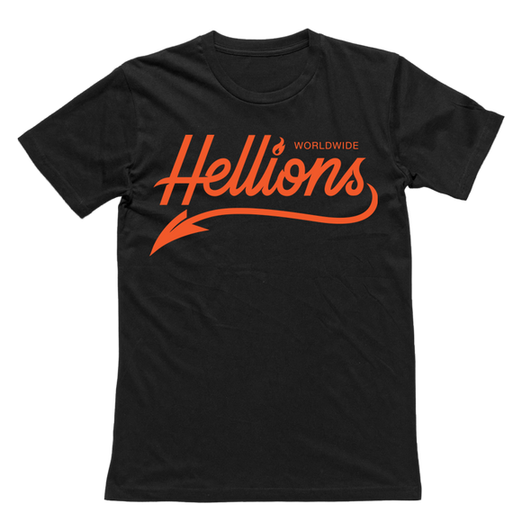 Hellions Official Merch - Script Tee (Black)