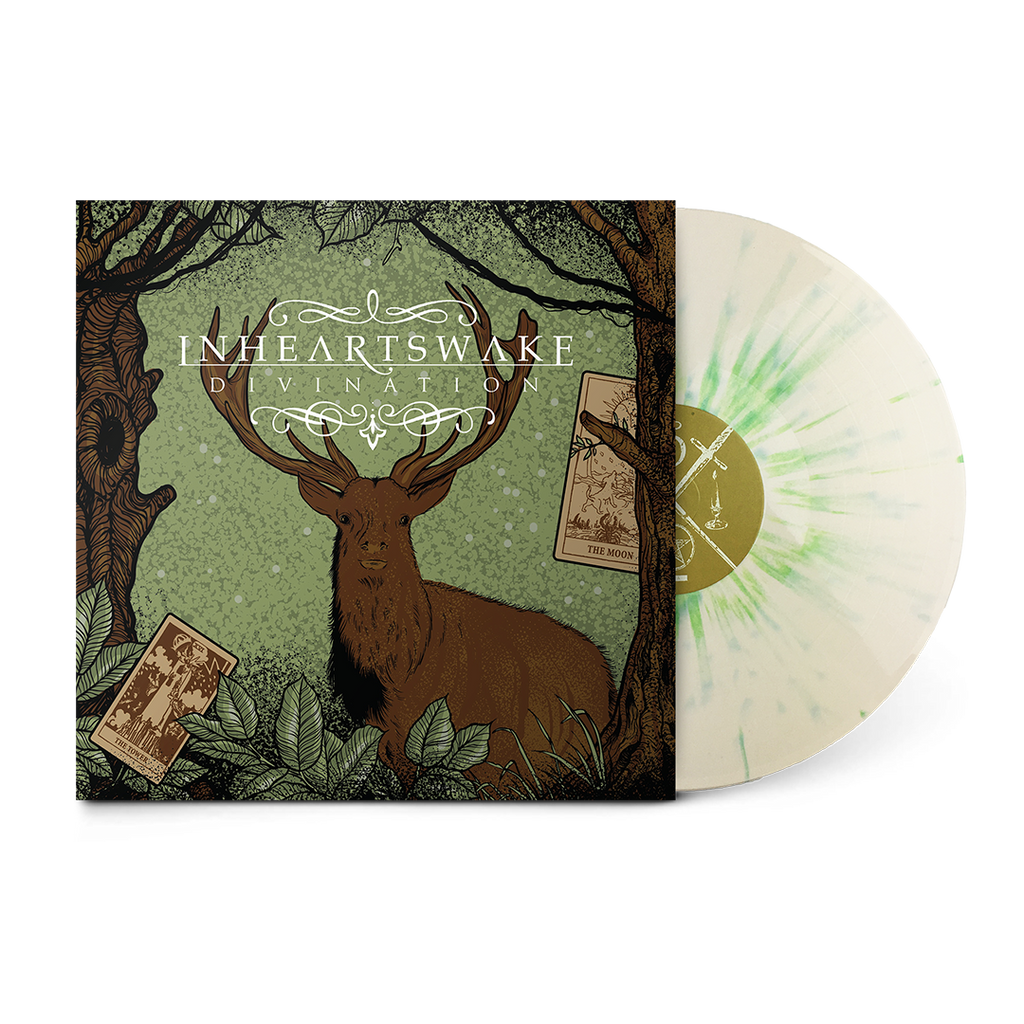 "Divination 12"" Vinyl (Moss Green Splatter)"