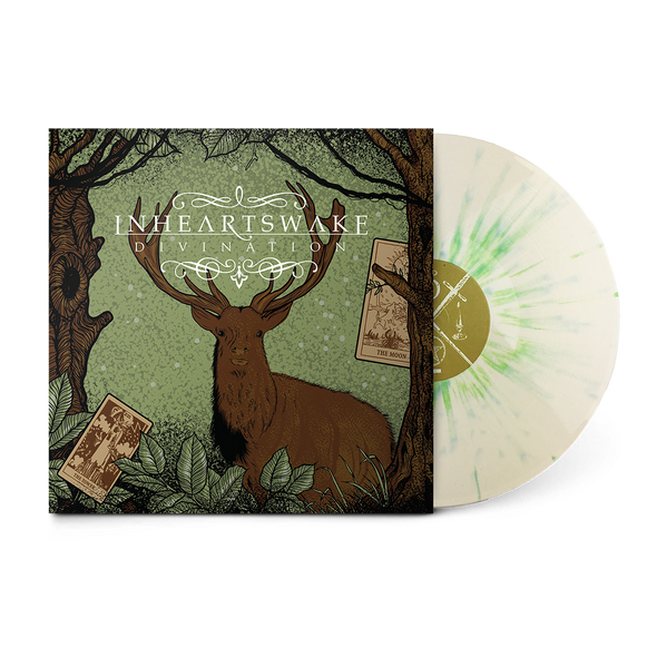 "In Hearts Wake Official Merch - Divination 12"" Vinyl (Moss Green Splatter)"