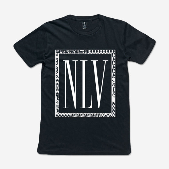 Nina Las Vegas Official Merch - NLV (Black Tee)