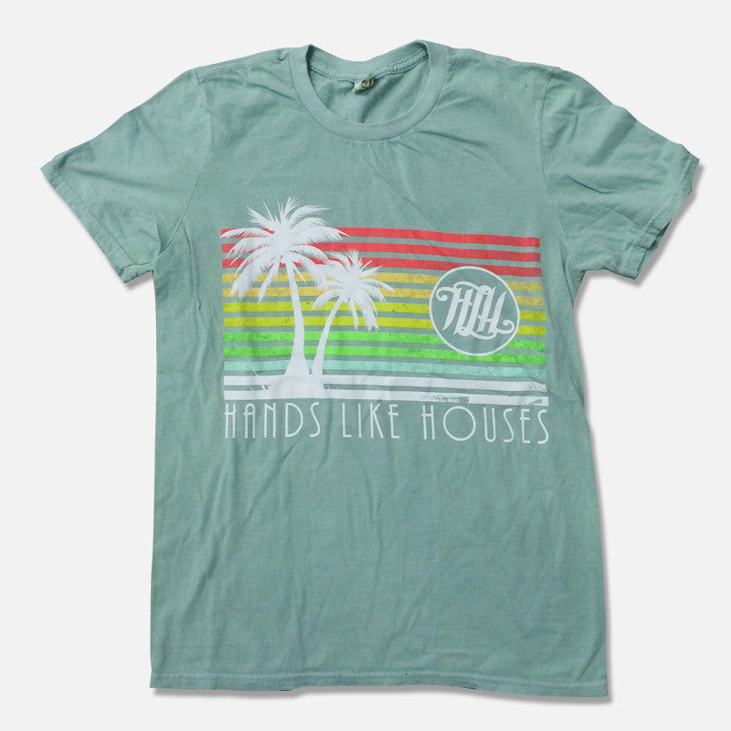 Hands Like Houses Official Merch - Palms (Green Tee) (425974399)