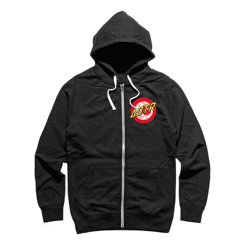 A Day To Remember Official Merch - Eyeball (Black Hooded Sweater)