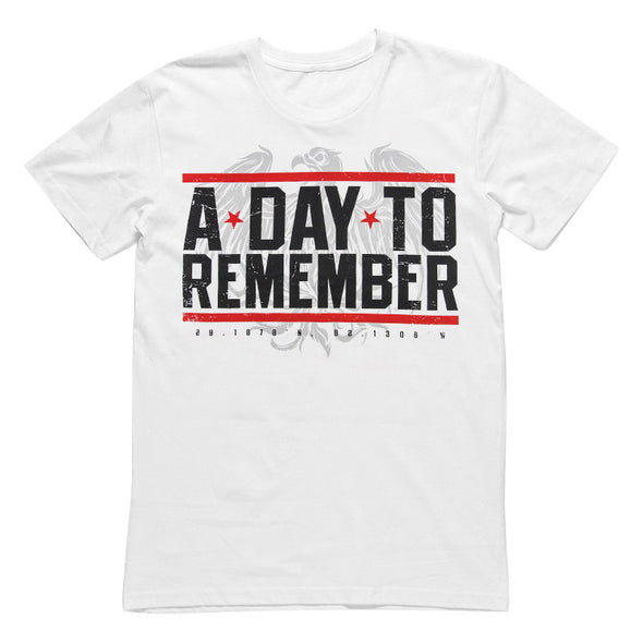 A Day To Remember Official Merch - Hardcore (White Tee) (5632656515)
