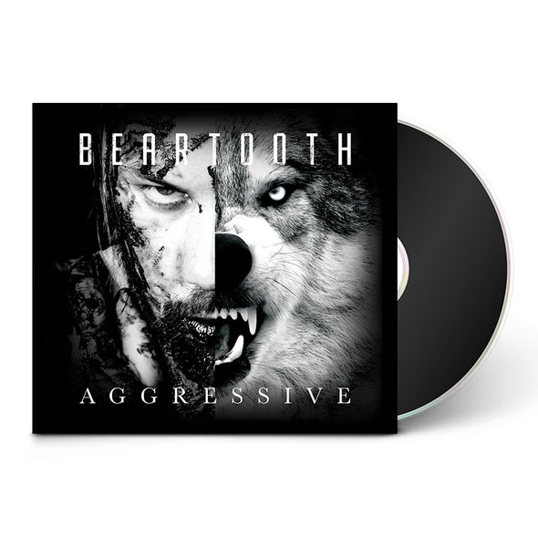 Beartooth Official Merch - Aggressive (CD) (6172050563)