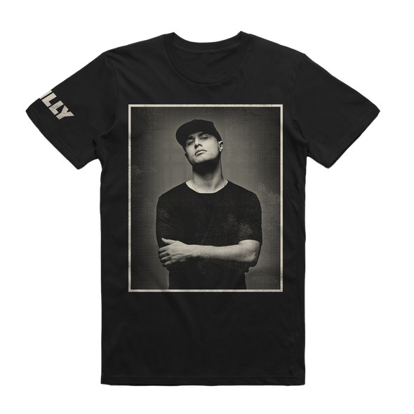 Illy Official Merch - Photo Tee (Black)