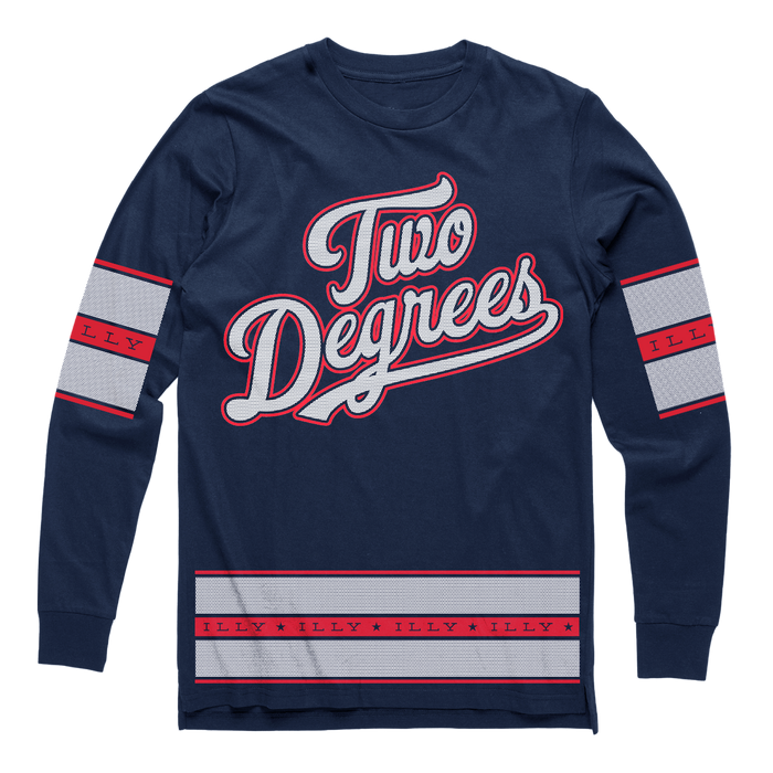 Two Degrees Long Sleeve (Navy)