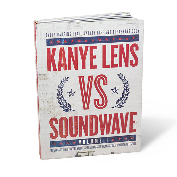 Kanye Lens Official Merch - Kanye Lens Vs Soundwave Volume 1 Ltd Edition (468164991)