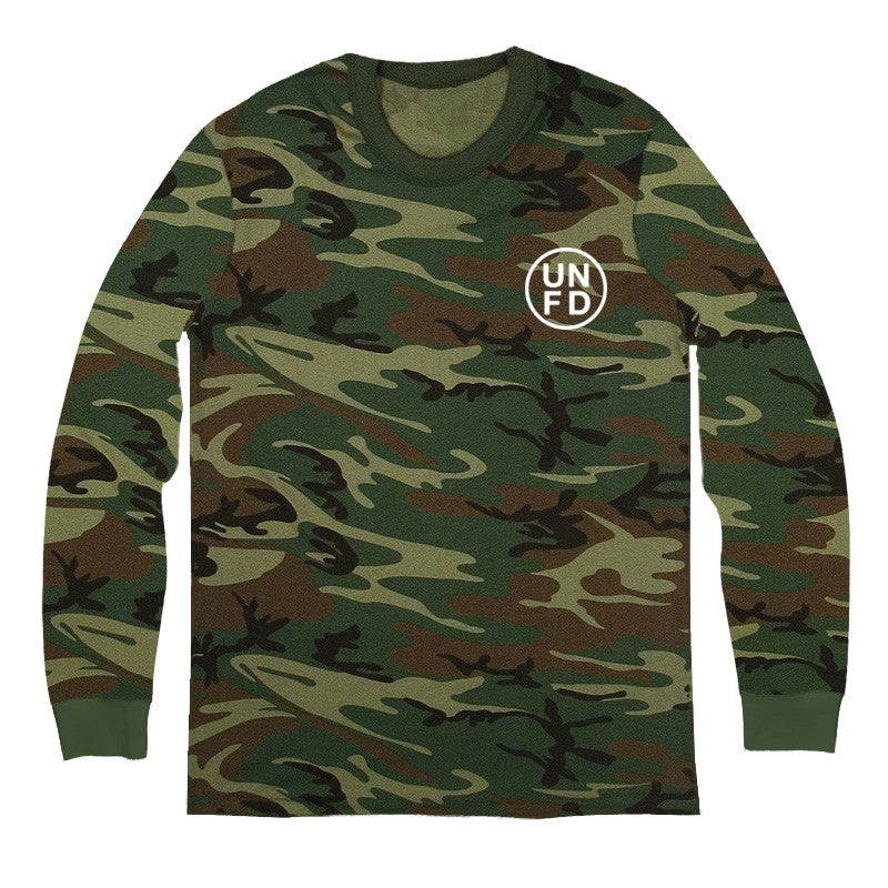 UNFD Official Merch - UNFD Circle Logo Long Sleeve (Camo)