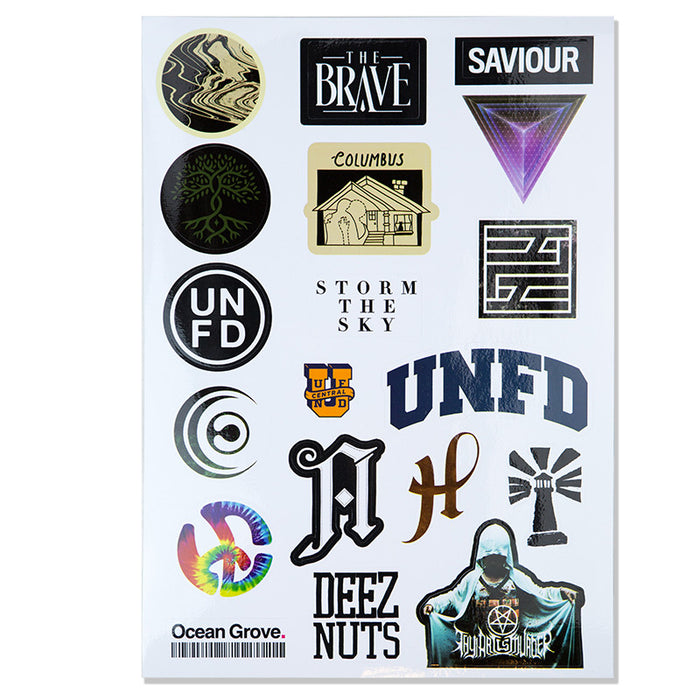 UNFD Official Merch - UNFD Sticker Pack Series 1