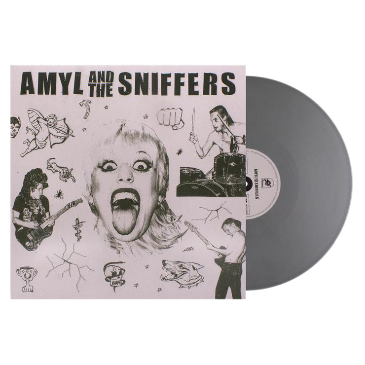 "Amyl and The Sniffers 12"" Vinyl (Limited Edition Chrome Angel)"