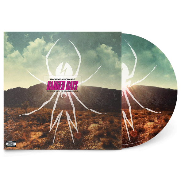 "Danger Days: The True Lives of the Fabulous Killjoys 12"" Vinyl (Limited Edition Picture Disc)"