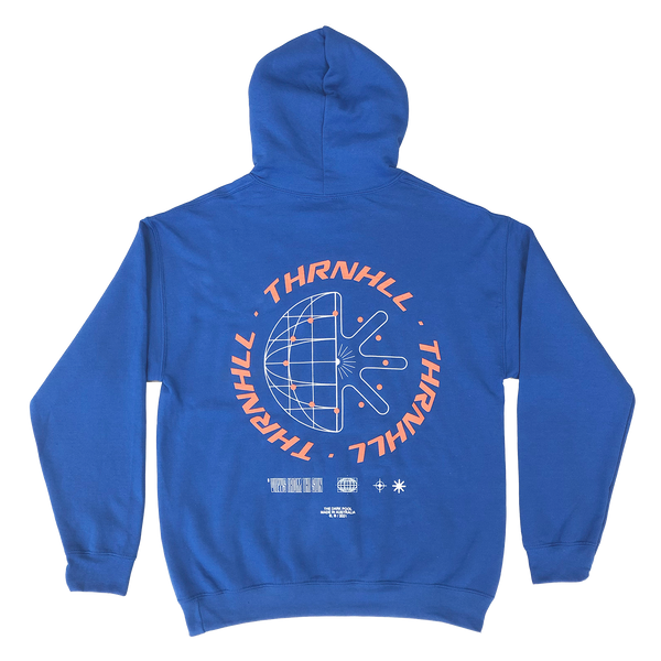 Views From The Sun Hoodie (Royal)
