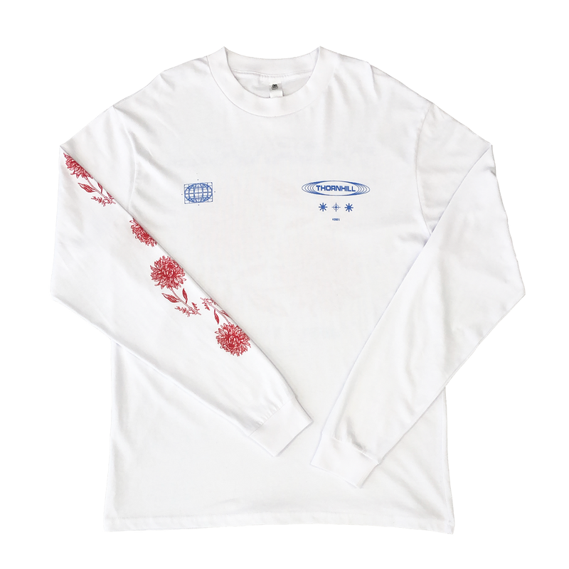 Views From The Sun Longsleeve (White)