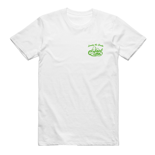 Lumpy The Snake Tee (White)