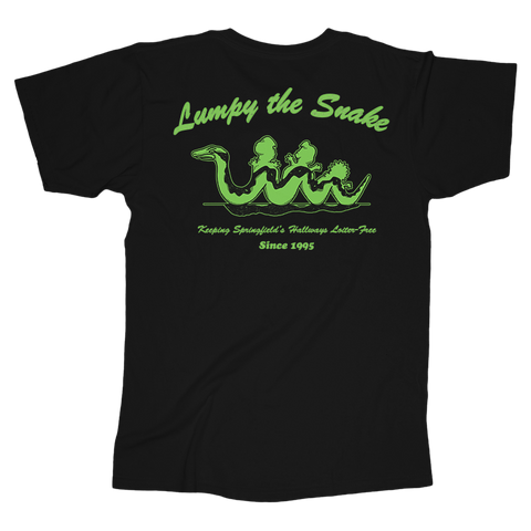 Lumpy The Snake Tee (Black)