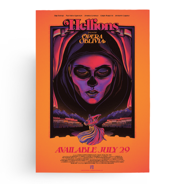 Hellions Official Merch - Opera Oblivia (A2 Poster)