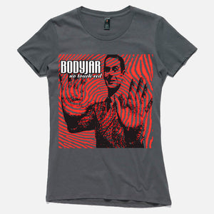 Bodyjar Official Merch - No Touch Red Womens (Charcoal)